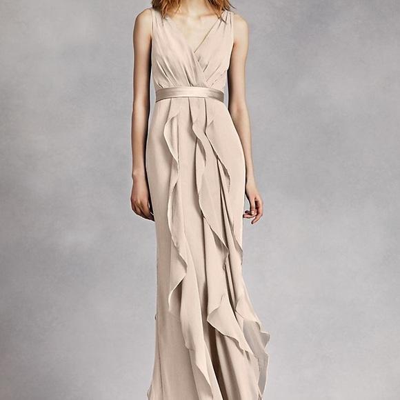 b1022e4936bc White by Vera Wang Dresses   Vera Wang Bridesmaid Dress In Champagne ...